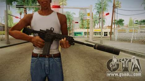 CoD 4: MW - M4A1 Remastered v1 for GTA San Andreas third screenshot