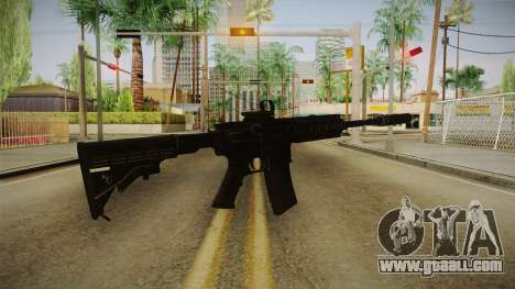 CoD 4: MW - M4A1 Remastered v1 for GTA San Andreas second screenshot
