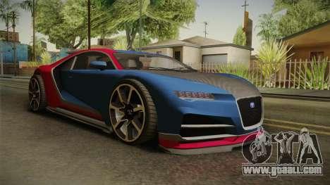GTA 5 Truffade Nero for GTA San Andreas right view
