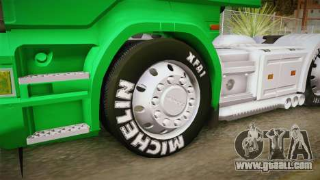 Scania R620 Nestle Milo for GTA San Andreas back view