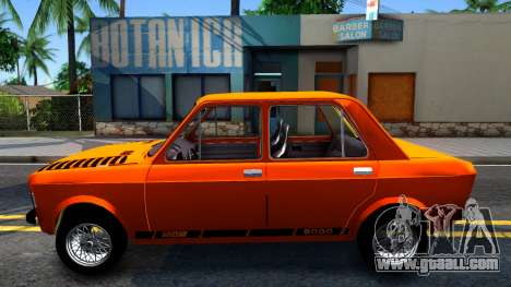 Fiat 128 v3 for GTA San Andreas left view