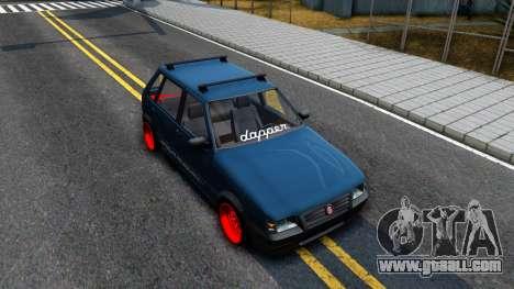 Fiat Uno for GTA San Andreas right view