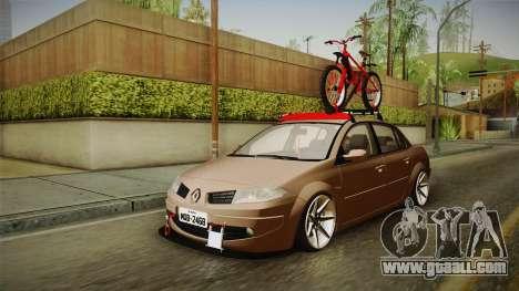 Renault Megane Sedan Stance for GTA San Andreas