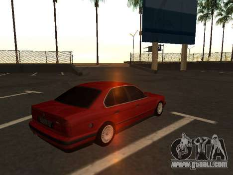 BMW E34 for GTA San Andreas left view