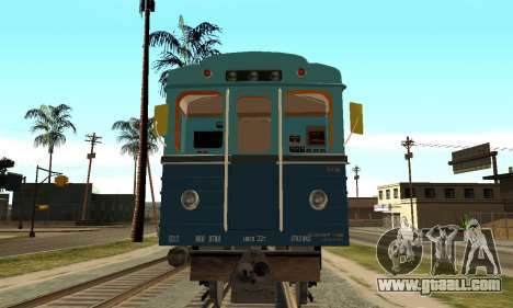 ST_M Metrovagon type Hedgehog for GTA San Andreas left view