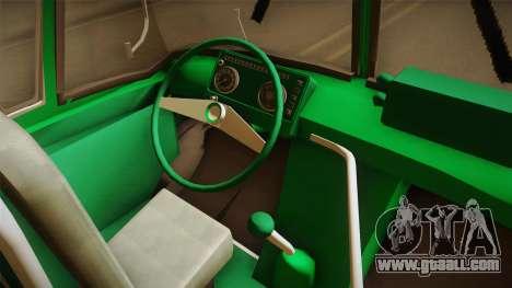 1114 (Bus) Recortado a Camion for GTA San Andreas inner view