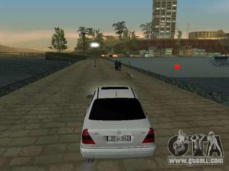 Mercedes-Benz C220 Armenian for GTA San Andreas back left view