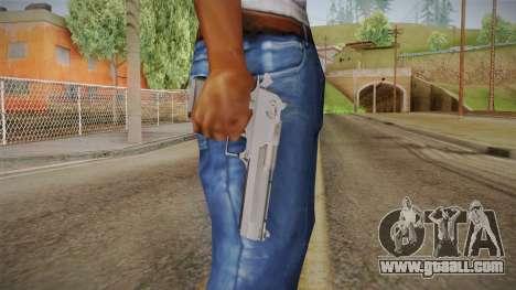 Desert Eagle 50 AE Black for GTA San Andreas third screenshot