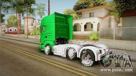Scania R620 Nestle Milo for GTA San Andreas left view