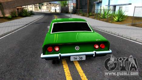Chevrolet Opala 1976 for GTA San Andreas back left view