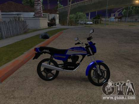 Honda ML-125 for GTA San Andreas