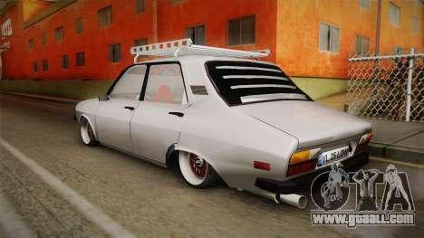 Dacia 1310 TX Low for GTA San Andreas back left view