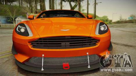 Aston Martin Virage 2012 for GTA San Andreas right view