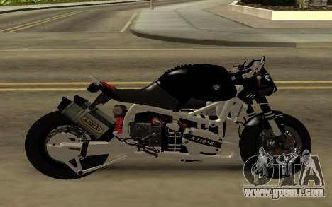 BMW R1100 RS for GTA San Andreas left view