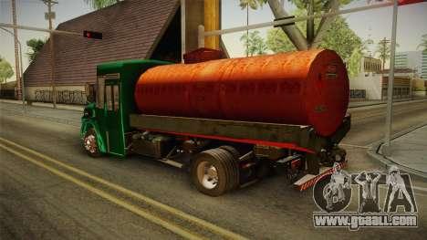 1114 (Bus) Recortado a Camion for GTA San Andreas left view