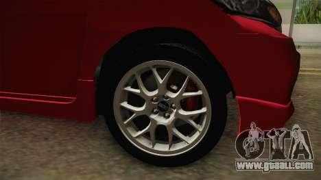 Honda Freed 2014 for GTA San Andreas back view