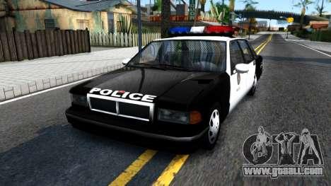 Declasse Premier LSPD for GTA San Andreas