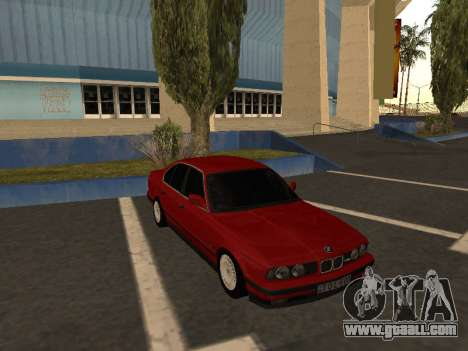 BMW E34 for GTA San Andreas back view