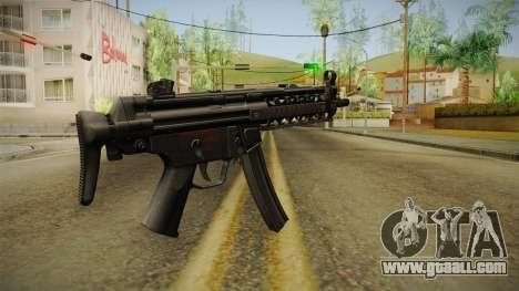 MP-5 v1 for GTA San Andreas second screenshot