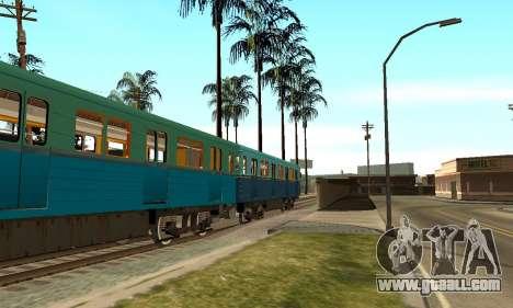 ST_M Metrovagon type Hedgehog for GTA San Andreas bottom view