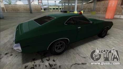 1972 Ford Gran Torino FBI for GTA San Andreas left view