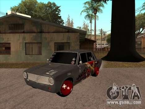 2101 BPAN for GTA San Andreas back left view