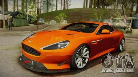 Aston Martin Virage 2012 for GTA San Andreas