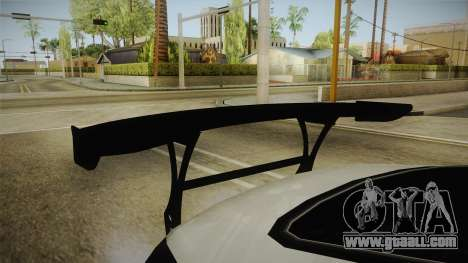 Nissan 350Z Drift for GTA San Andreas inner view