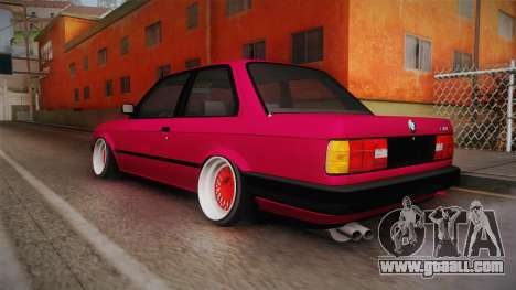BMW 325i E30 Stance for GTA San Andreas left view