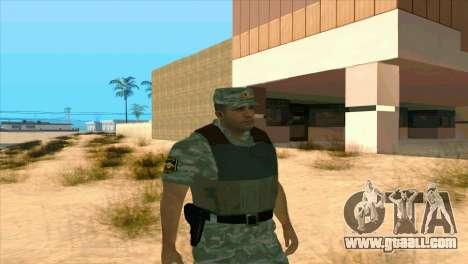 A Riot Policeman for GTA San Andreas