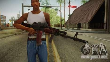 Battlefield 4 - AK-12 for GTA San Andreas third screenshot