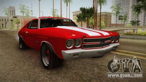 Chevrolet Chevelle SS 1970 for GTA San Andreas right view