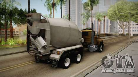 Mack RD690 Cement 1992 v1.0 for GTA San Andreas right view