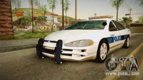 Dodge Intrepid 2001 El Quebrados Police for GTA San Andreas