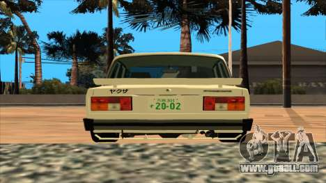 Lada 2105 for GTA San Andreas left view