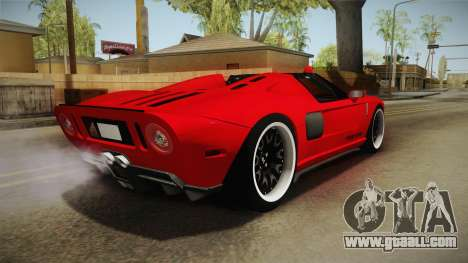 Ford GTX1 FBI for GTA San Andreas left view