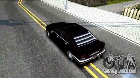 Sentinel Mafia From GTA 3 for GTA San Andreas back view