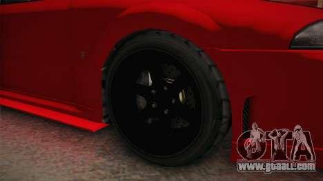GTA 5 Annis Elegy Retro Custom IVF for GTA San Andreas back view