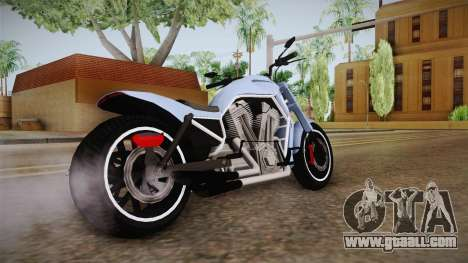 GTA 5 Western Nightblade for GTA San Andreas back left view
