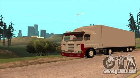 Scania 143M for GTA San Andreas left view