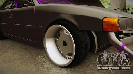 Toyota Chaser Tourer V Drift for GTA San Andreas back view