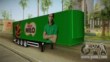 Nestle Milo Trailer for GTA San Andreas right view