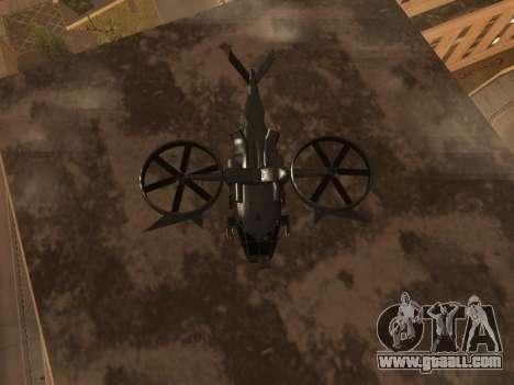 SA-2 Samson Armenian for GTA San Andreas inner view