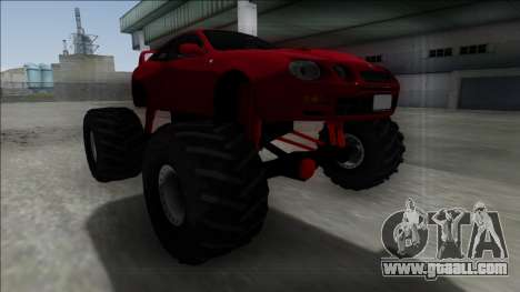 Toyota Celica GT-Four Monster Truck for GTA San Andreas right view