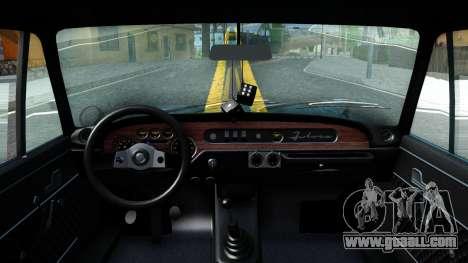 Lancia Fulvia for GTA San Andreas inner view