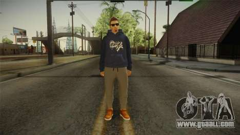 GTA 5 Online DLC Male Skin for GTA San Andreas second screenshot