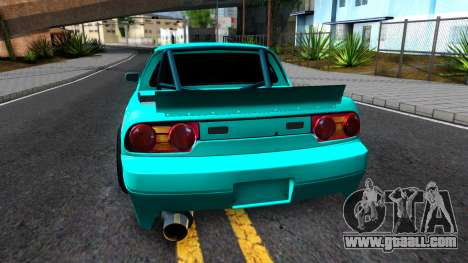 Nissan 200SX Pickup for GTA San Andreas back left view