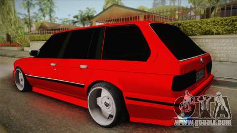 BMW 3 Series E30 Touring 3.8 BiTurbo for GTA San Andreas left view