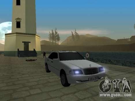 Mercedes-Benz C220 Armenian for GTA San Andreas left view