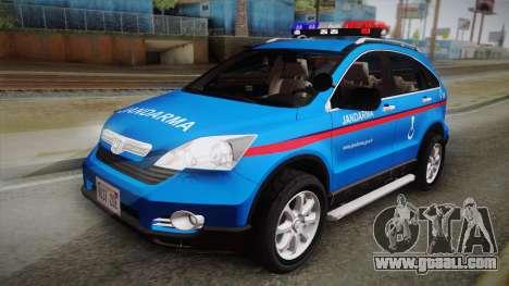 Honda CR-V Turkish Gendarmerie for GTA San Andreas